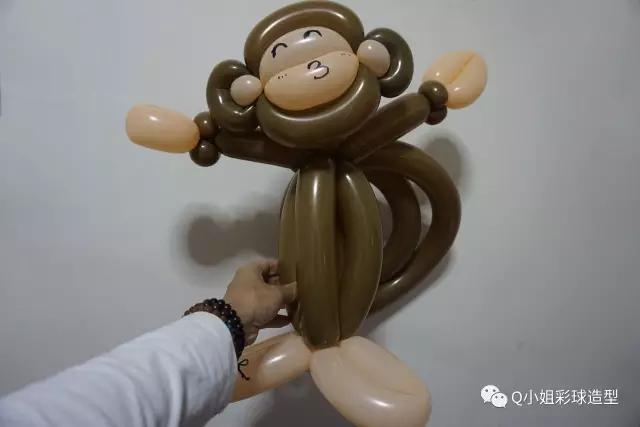 怎么用气球做简易的猴子?2020魔法气球猴子制作方法