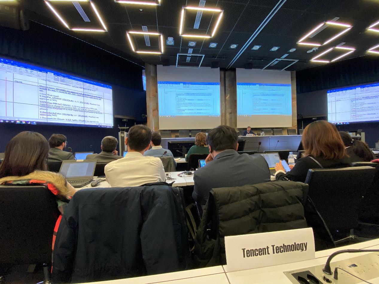 聚焦未来城市,腾讯成功牵头ITU-T物联网安全相关标准立项