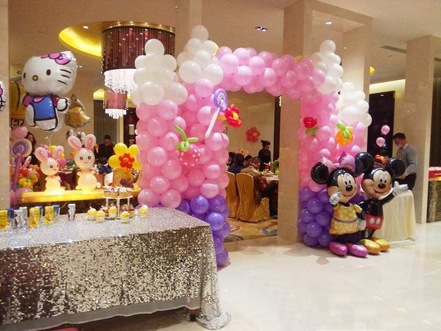 節日氣球布置裝飾圖片!這是能給節日中帶來的快樂