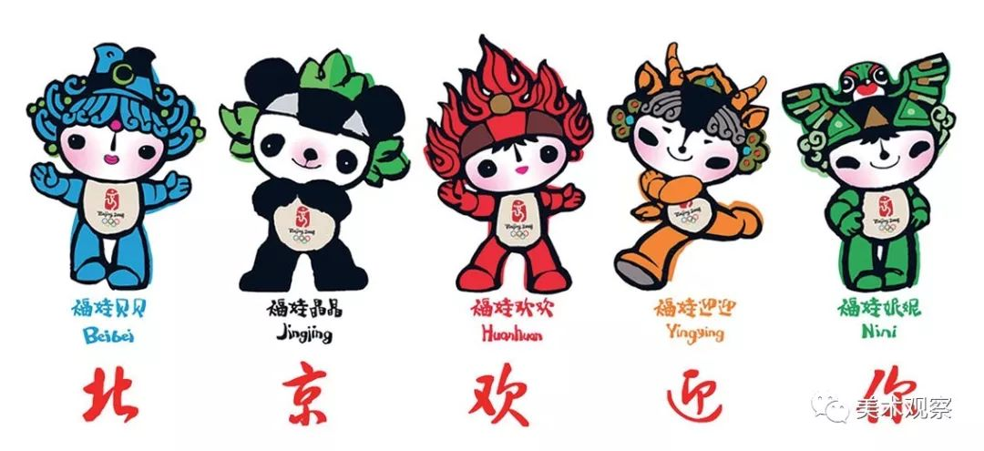 北京冬奥会吉祥物的儿童趣味 吉祥物设计 | 表情包设计 | 卡通形象设计 玩具定制 吉祥物定制插图(1)