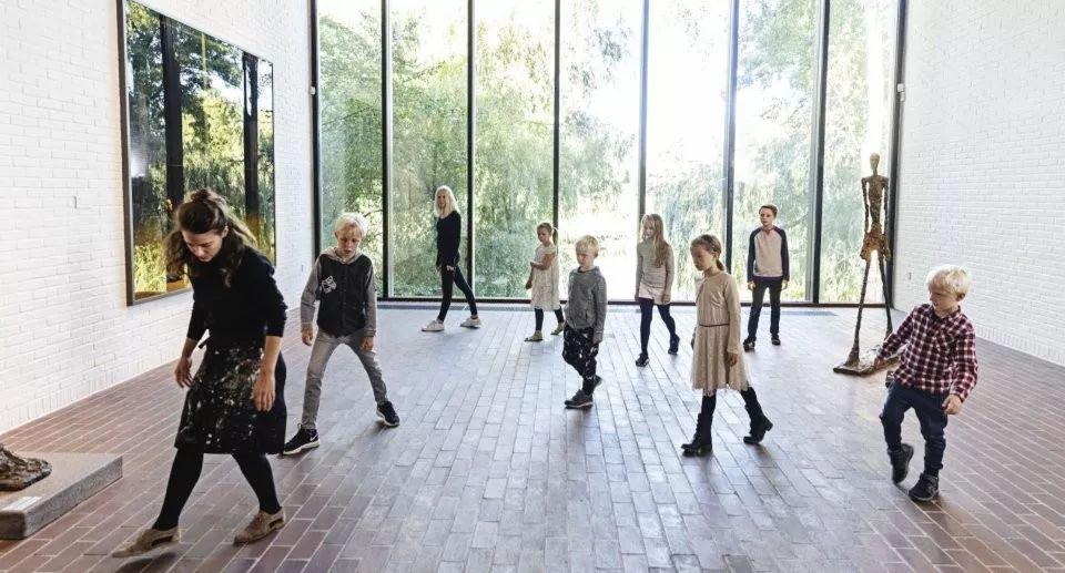 """路易斯安那当代美术馆  """"儿童之翼"""""""