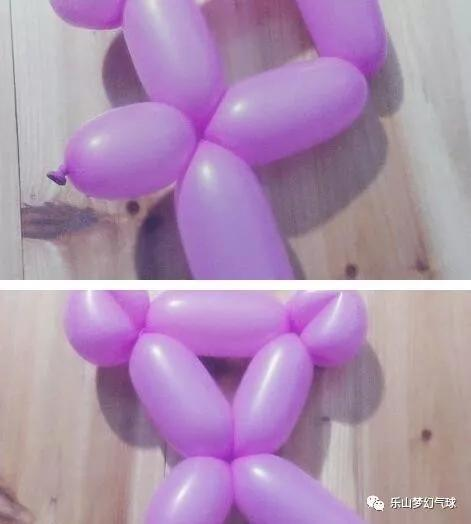 气球小熊的做法分享!不知道气球小熊怎么编的进来