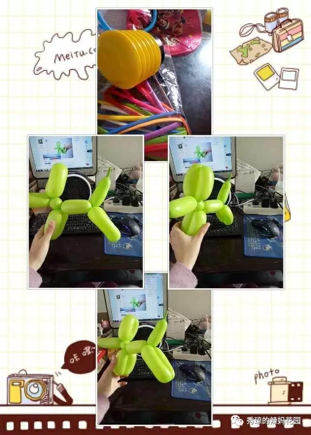 氣球小狗怎么編?簡單的氣球小狗造型教程圖解