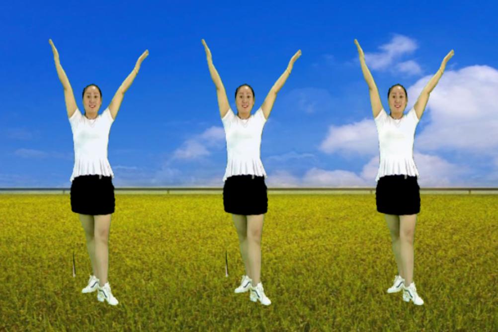 青春洋溢广场舞《勇敢的爱潇洒的走》网络热门舞曲 舞蹈青春活力