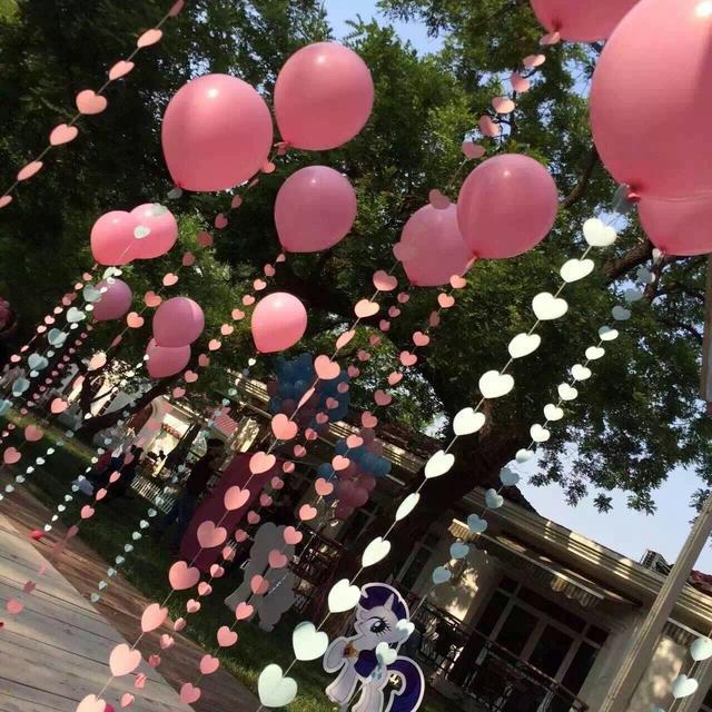 婚禮墻上氣球裝飾圖片大全!分享婚禮新房氣球布置教程