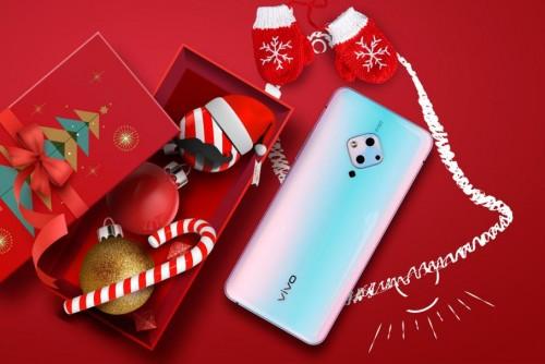 圣诞剁手季,这么美的vivo S5为圣诞甜蜜加分~