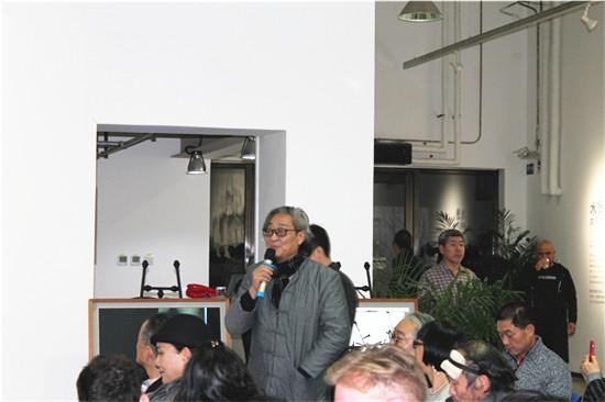 """""""生死水墨""""--邵岩当代艺术展在798锦都艺术中心隆重开幕"""