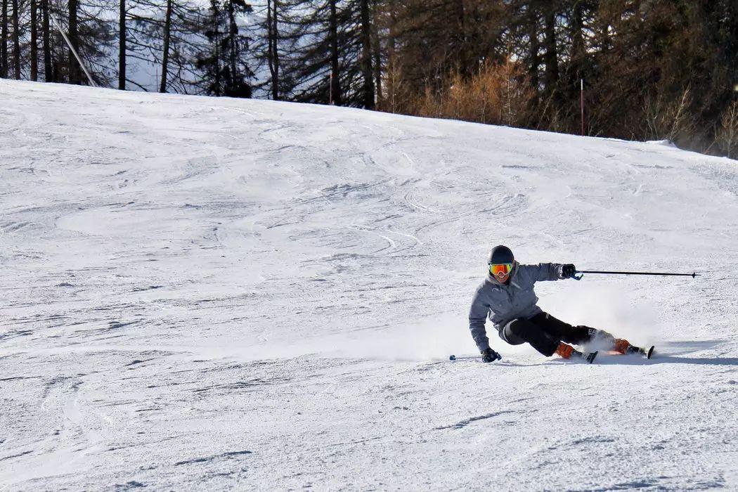 去户外撒欢儿  Skiing