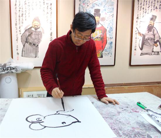 走进著名画家仇立权老师的艺术世界