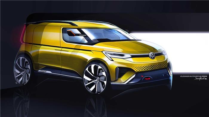大众汽车官方发布了一组全新一代开迪车型的设计图