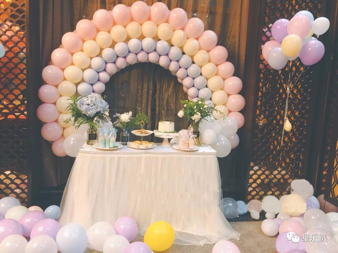 派對氣球布置圖片教程!你要知道的都在這里