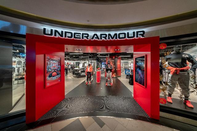 UNDER ARMOUR安德玛首家全新UA运动交互概念店上海开业