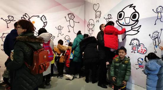 """""""2019慶元旦《維開夢畫》兒童藝術畫展""""在北京同澤藝術館舉行"""