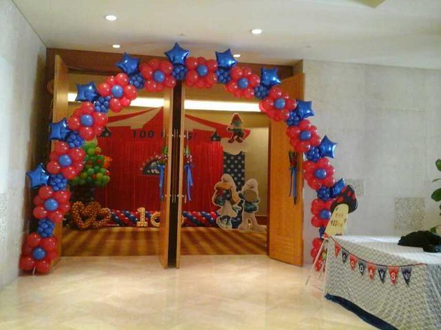 寶寶宴布置氣球派對都哪些主題?快來看看吧