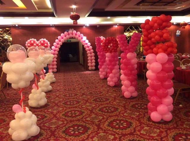 婚禮家里氣球布置圖片!分享2020婚禮現場布置氣球