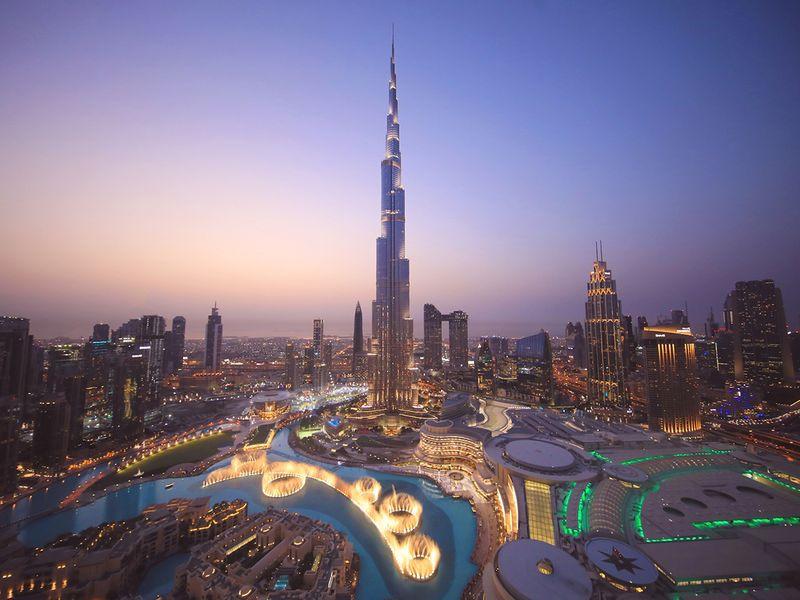 今天!世界最高的迪拜哈利法塔(Burj Khalifa)10