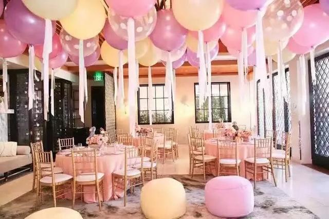 氣球婚禮場景布置圖片!2020最新現場布置圖片