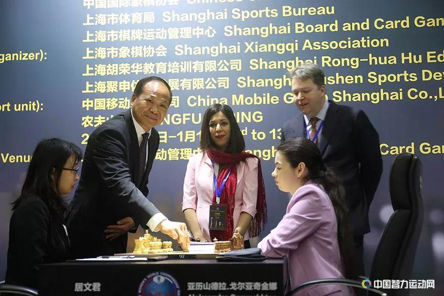 国象女子世界冠军对抗赛第二轮 局势平稳战成和棋