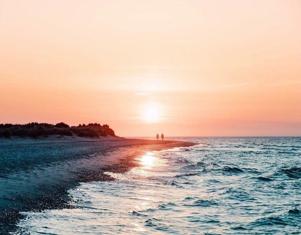 """日德兰半岛   """"风吹麦浪般静谧的白沙滩海岛慢时光"""""""