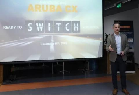 万物互联时代      Aruba CX欲引领下一代网络交换平台?