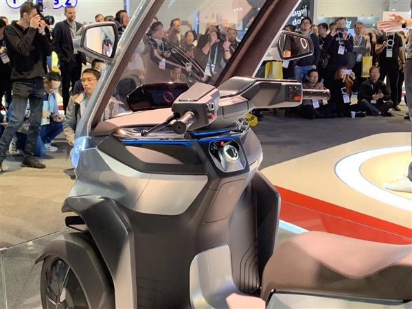 小牛发布全球自动驾驶三轮电动摩托车:支持5G、续航200km的照片 - 12
