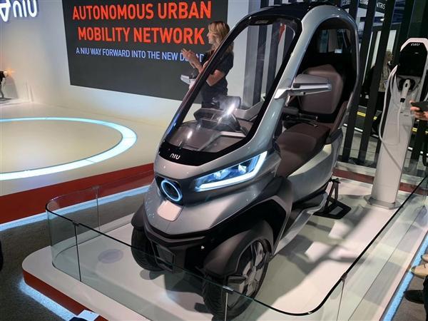 小牛发布全球自动驾驶三轮电动摩托车:支持5G、续航200km的照片 - 9