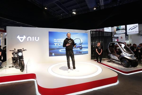 小牛发布全球自动驾驶三轮电动摩托车:支持5G、续航200km的照片 - 7