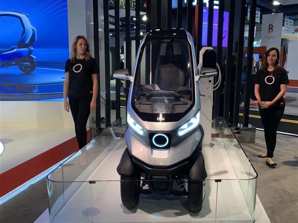 小牛发布全球自动驾驶三轮电动摩托车:支持5G、续航200km的照片 - 10