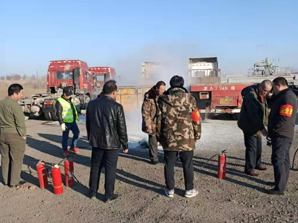北京运输企业春节安全消防演练