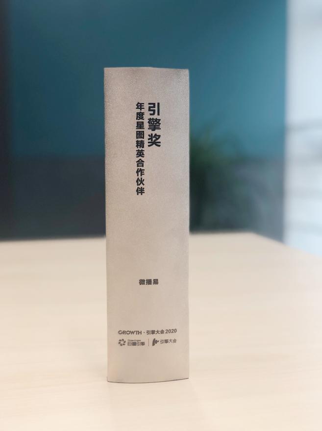 微播易获巨量引擎年度星图精英合作伙伴奖项