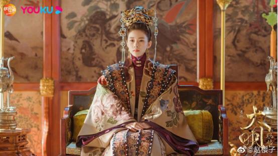 她是《大明风华》最美女子,被赞三好演员,不愧是收视女王赵樱子