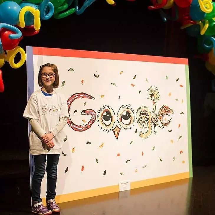 13岁天才小萝莉走红,靠画画捐出48万拯救濒危动物