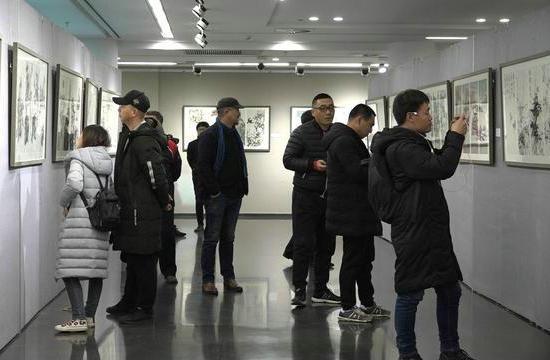 """""""尺素清芬――当代中国画名家小品新作品鉴展""""在京隆重开幕"""