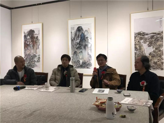『水墨江山』--国家画院导师工作室山水画名家精品展成功开幕