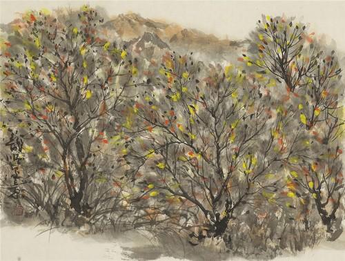 把传统笔墨融入现代绘画的杰出画家:姚龙顺