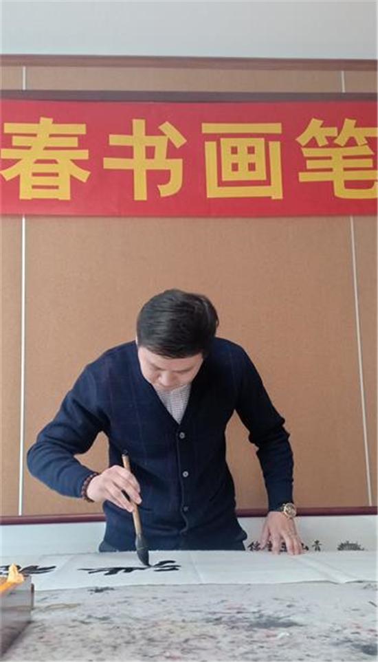高沈庭书法艺术工作室迎新春书画笔会圆满举行