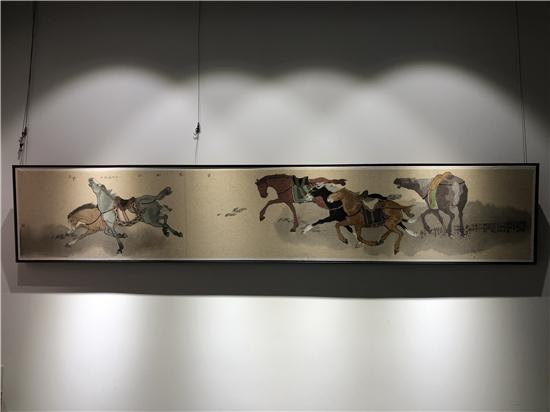 望年(第二季)孟凡书艺术漫谈在东方珍宝美术馆举办