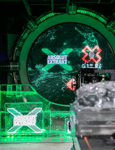 绝对伏特加绝对X ABSOLUT EXTRAKT官宣与X GAMES CHINA合作,开启#寻找冰点#计划!
