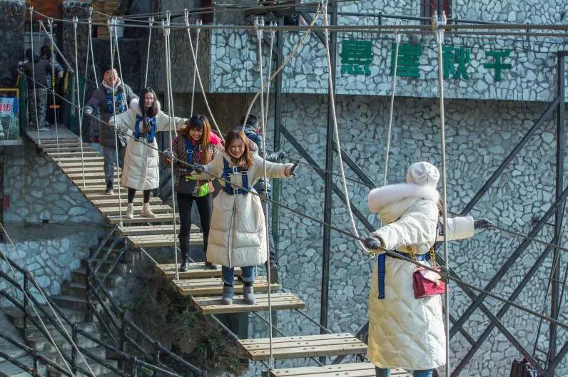 这个冬天去北川旅游:九皇山景区成为斗鱼热门,百万网友围观
