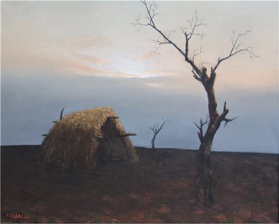 当代具有影响力的油画家马刚,创下一个又一个唯一