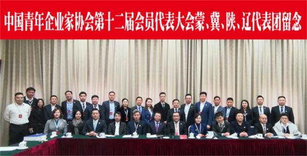 万众炜业董事长王进平当选中国青年企业家协会理事