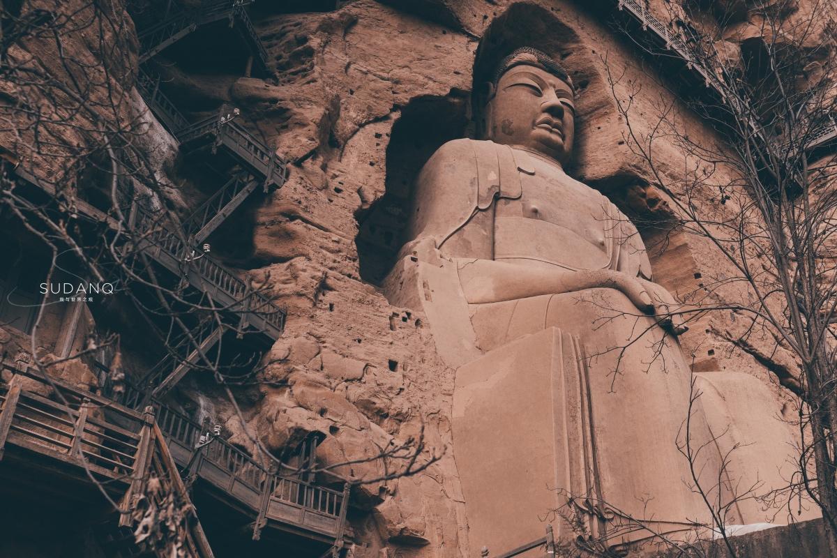 文物修复缺乏审美力,27米高的唐代大佛令人失望,最后一张更扎心