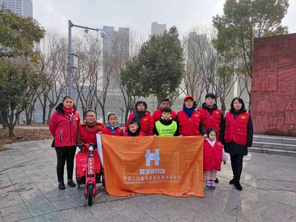 蚌埠市黄手环行动:给生命的两端以同等的关爱
