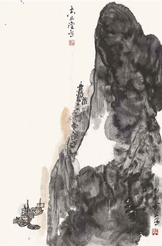 解衣��礴-魏维果国画作品全国巡展