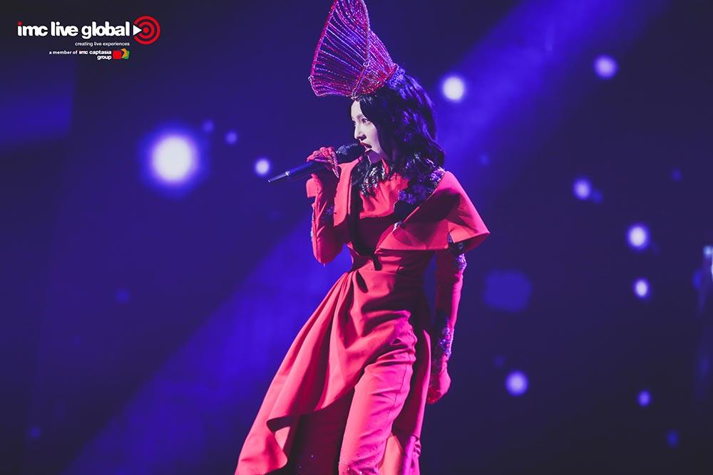 张韶涵寓言演唱会上海站完美落幕 新歌首唱燃炸现场