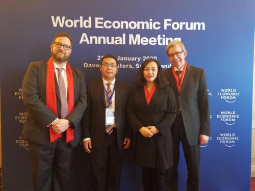 沐盟集团受邀出席达沃斯论坛全球母基金峰会并荣获全球最具潜力基金