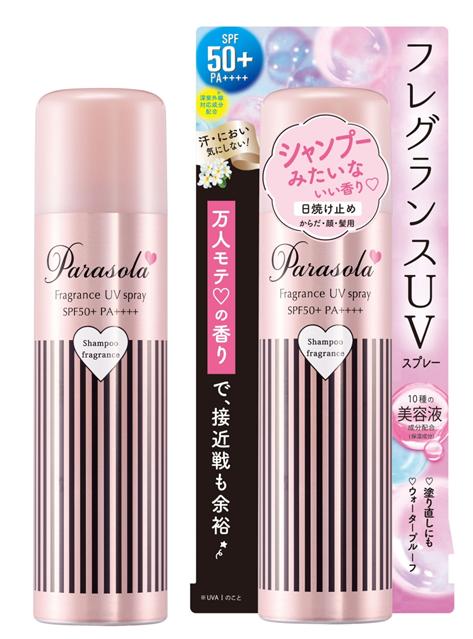 新品发售||男性女性都爱的魅力Parasola防晒喷雾清爽
