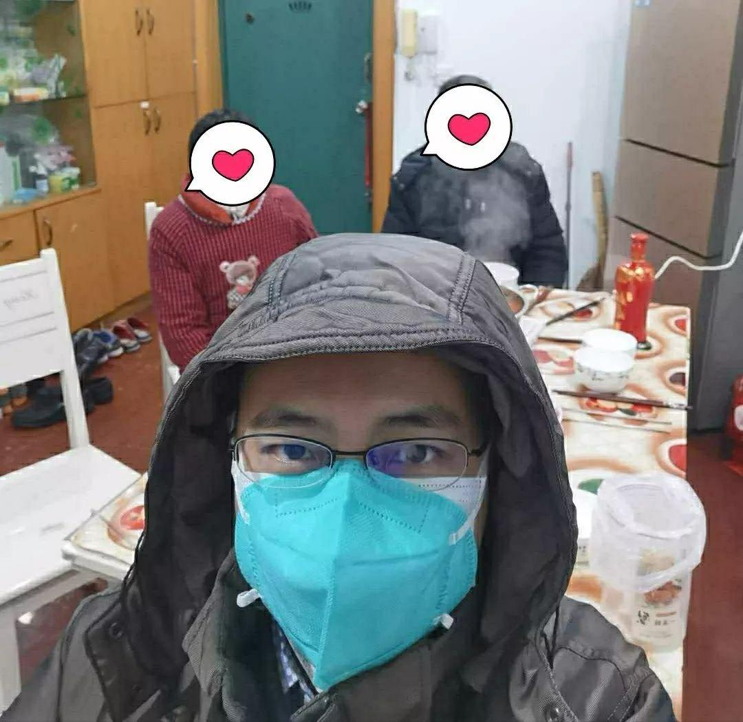 疑似感染新冠病毒,武汉同济医院周医生,自我隔离四天好转