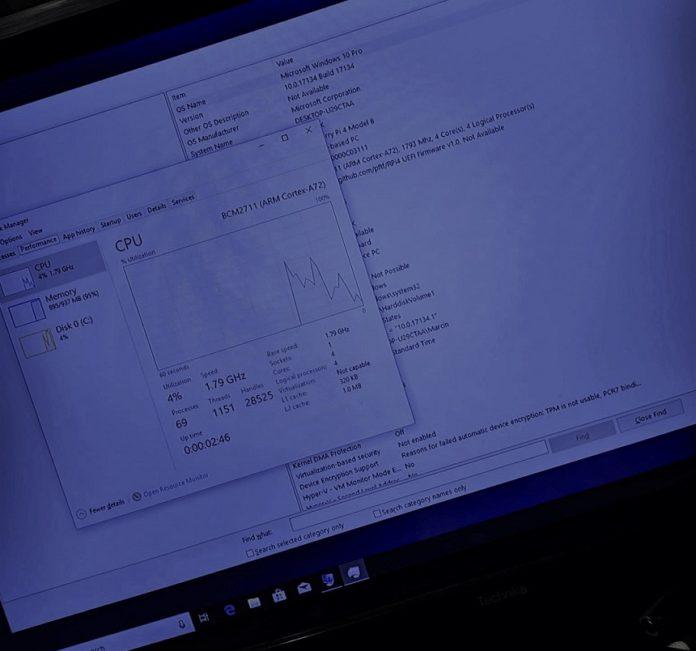 树莓派4迎来了运行Win10 ARM版的良好开局的照片 - 2