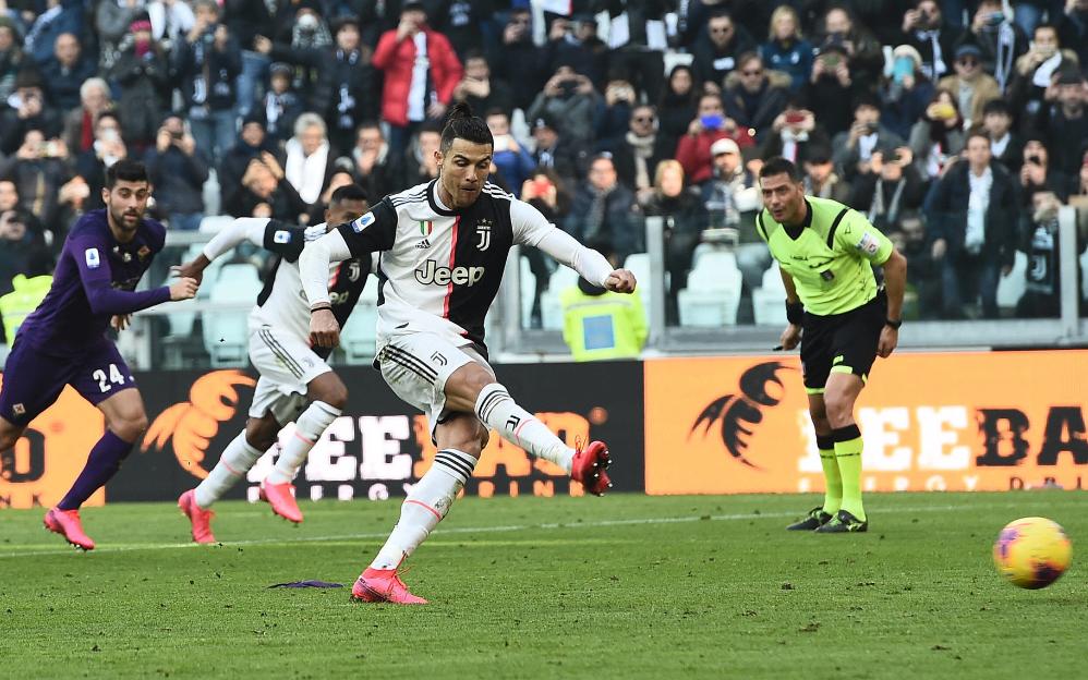 意甲-C罗梅开二度德里赫特头球 尤文3-0佛罗伦萨